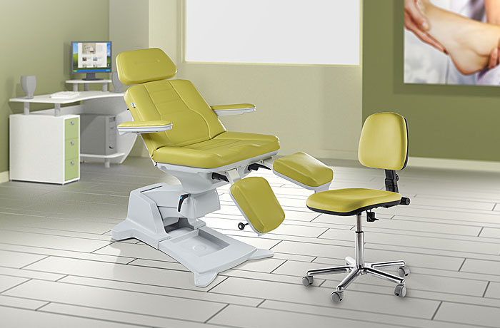 Podo5 pedicure chair