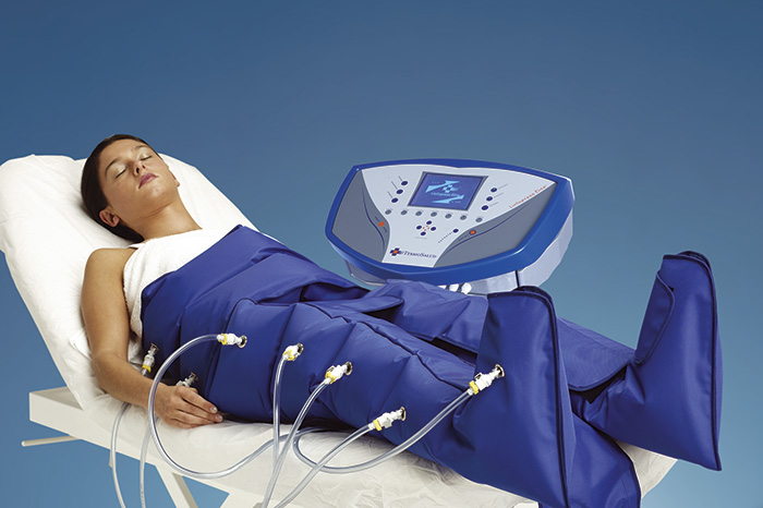 Linfopress Elite pressuretherapy device